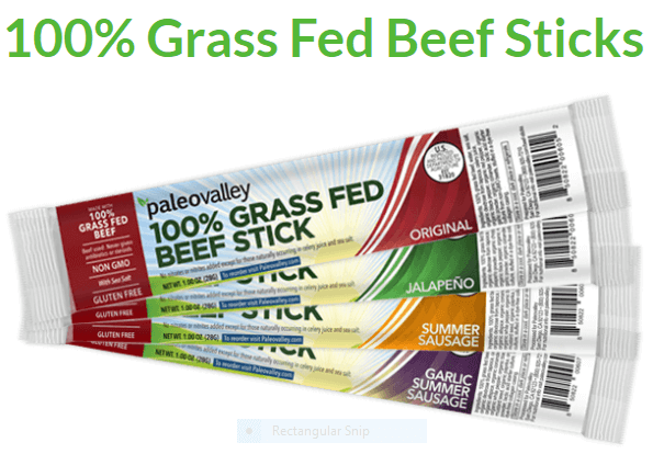 paleovalley grass fed beef sticks