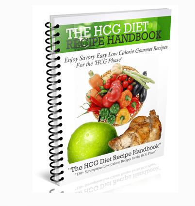 HCG recipe e-book